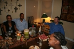 Dinner Party with Neighbors and Friends