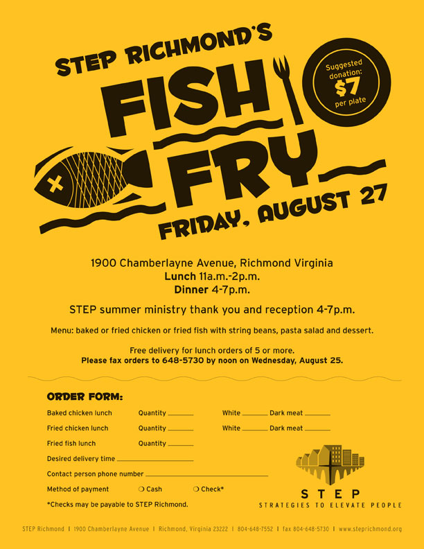 Fish Fry Flyer Templates Related Keywords - Fish Fry Flyer ...