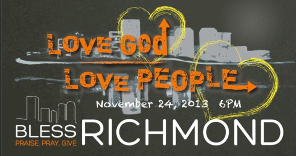 Bless Richmond 2013