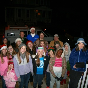Caroling at Miss Marti's House